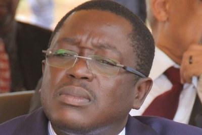 New Prime Minister Baciro Dja.