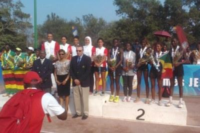 A l'image de son équipe de tennis (sur cette photo), l'Égypte a raflé plus de médailles aux Jeux Africains Brazzaville 2015