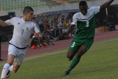 Algeria vs Nigeria (file photo).