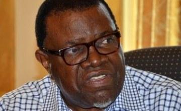 Namibian President Declares War