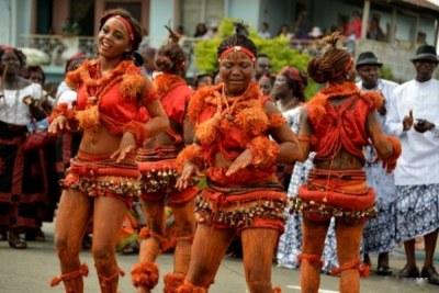 Calabar Carnival.