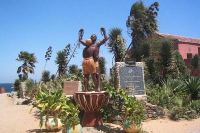 Ile de Gorée (Sénégal) - Monument en mémoire de l'esclavage