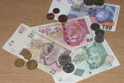 South African rand.