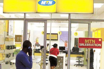 MTN Nigeria walk-in centre (file photo).