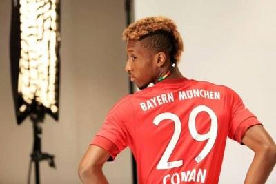 Kingsley Coman, joueur Franco-guinéen