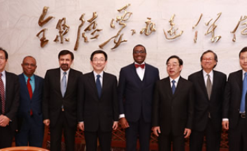 AfDB President Rounds up Asian Tour in Beijing