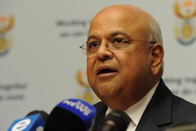 Public Enterprises Minister Pravin Gordhan (file photo).