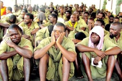 Zimbabwean prisoners (file photo).