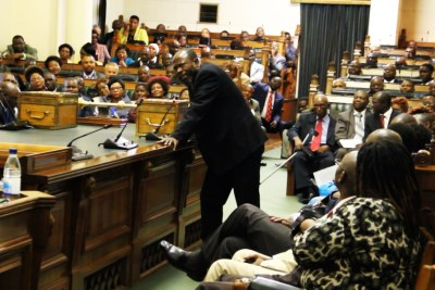 Zimbabwean parliament (file photo).