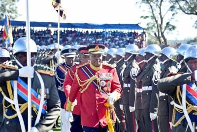 King Mswati III of the Kingdom of Eswatini (file photo).