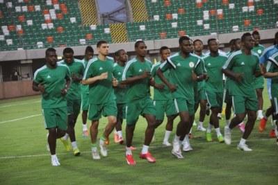 Nigeria's senior  soccer team - The Super Eagles (file photo).