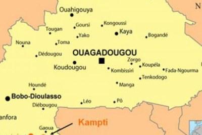 Mali/ Burkina Faso boundary