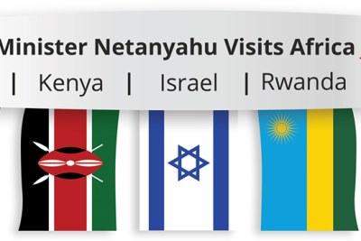 Premier ministre d'Israel rend visite à l'ouganda et d'autres pays africains