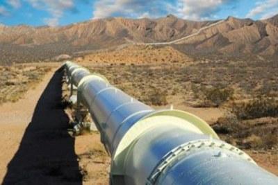 Un pipeline en Afrique.