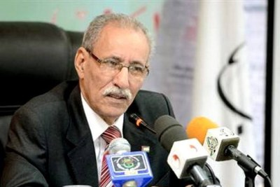Brahim Ghali, né en 1946, est un militant indépendantiste sahraoui, élu président de la République arabe sahraouie démocratique et du Front Polisario le 9 juillet 2016