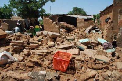 Beaucoup de dégâts provoqués par les pluies torrentielles