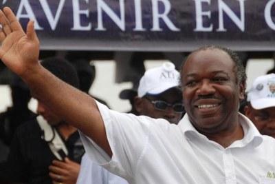 Ali bongo, président de la république du Gabon