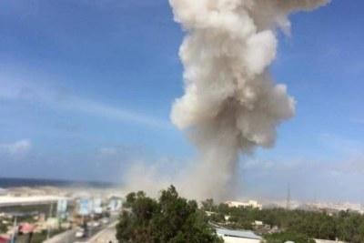 Bombardement à Mogadiscio