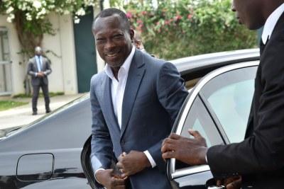 Patrice Talon , Président du Bénin