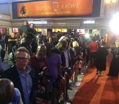 Ugandan Film Queen of Katwe Premieres in South Africa