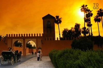 La ville de Marrakech