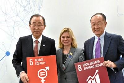 Le 21 Janvier 2016, le Secrétaire Général des Nations Unies a annonçé le tout premier panel de haut niveau sur l'autonomisation économique des femmes.