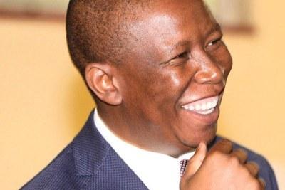 Economic Freedom Fighters leader Julius Malema (file photo).