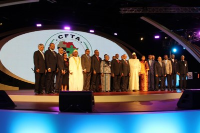 The African Union Assembly launched the Continental Free Trade Area (CFTA) negotiations during the 25th Ordinary Summit of Head of States and Governments on 15 June 2015 in Johannesburg, South Africa.