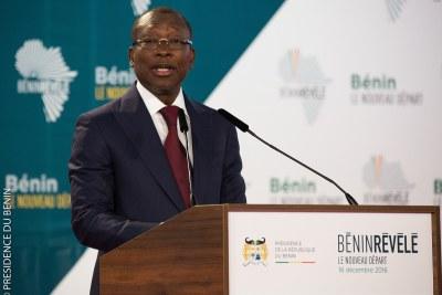 President Patrice Talon of Benin