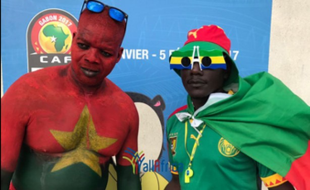 CAN 2017: Burkina Faso football fans.