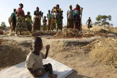 Les Nigérians sont confrontés à la famine.