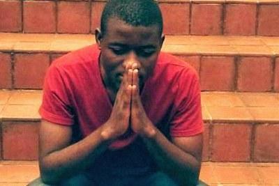 #FeesMustFall activist Bonginkosi Khanyile (file photo).