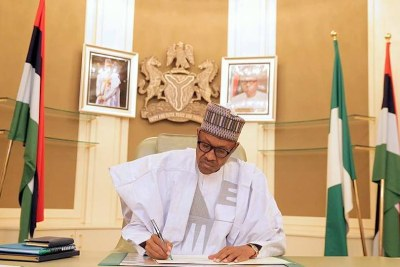 President Buhari resumes office.