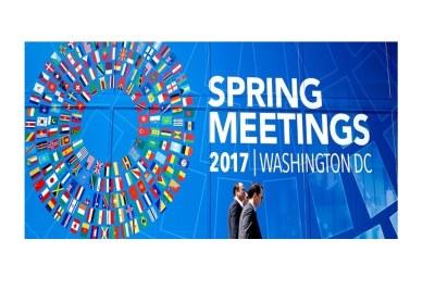 World Bank / IMF Spring Meetings (file photo).