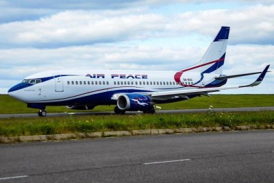 Air Peace Aircraft