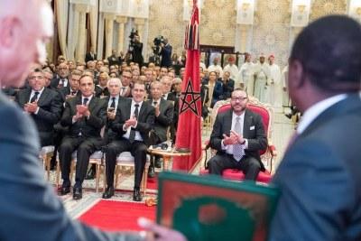 15 mai 2017 SM le Roi préside la signature de plusieurs accords Maroc-Nigéria