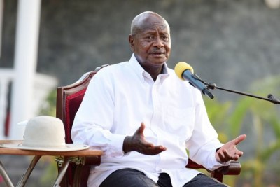 President Yower Museveni.