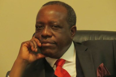 Fired Energy and Minerals Minister, Prof Sospeter Muhongo.