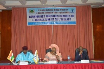 Réunion des Ministres en charge de l'agricultureet de l'élevage de l'UEMOA
