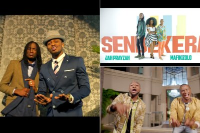 Jah Prayzah has also collaborated with South Africa's Mafikizolo, Nigeria's Davido and Tanzania's Diamond Platinumz.