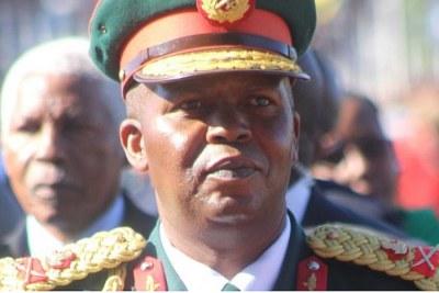 Lesotho Defence Force commander Lt-Gen Khoantle Motsomotso.