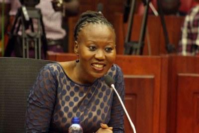 IEBC Commissioner Roslyn Akombe