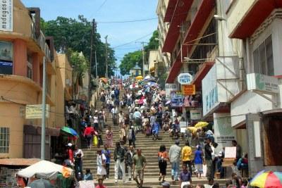 Market in Analakely, Antananarivo, Madagascar (file photo).