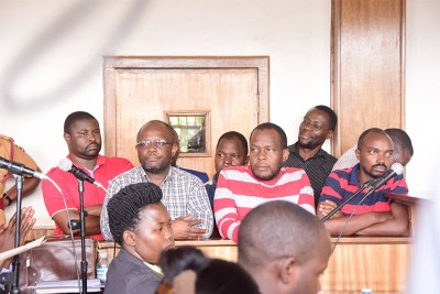 Red Pepper editors and directors in court on December 5, 2017.