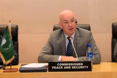 SMAÏL CHERGUI, Commissaire à la paix et à la sécurité de l'Union africaine