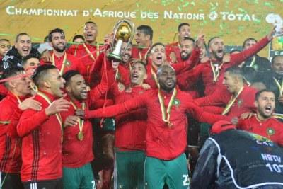 Maroc vainqueur du CHAN 2018