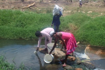 Namibia's Goreangab residents use contaminated water.