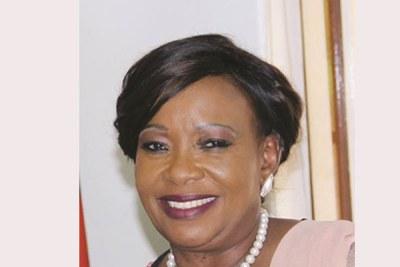 First Lady Auxillia Mnangagwa.