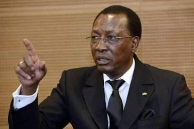 Le président Idriss Deby Itno