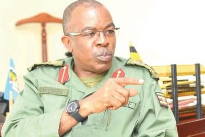 Army spokesperson Brigadier Richard Karemire
